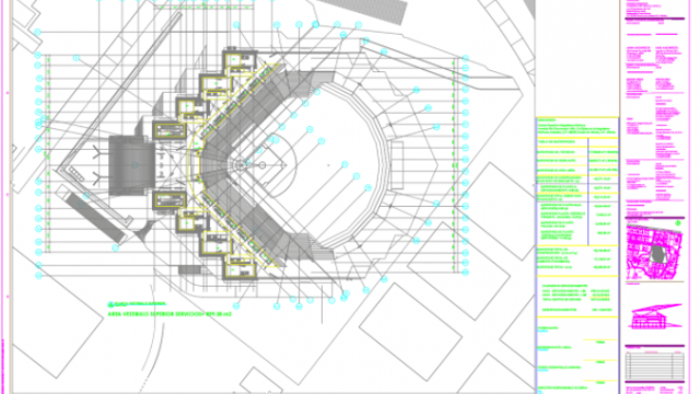 "Proyecto Arquitectónico Centro Deportivo ""Alfredo Harp Helú"""
