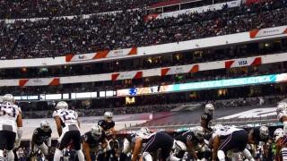 Los Patriotas dominaron a los Raiders 33-0 en el NFL GAME MEXICO 2017