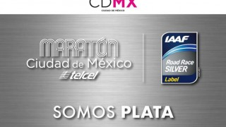 Otorga IAAF etiqueta plata al Maratón de la Ciudad de México Telcel