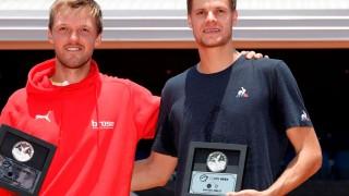 Pareja alemana gana el dobles del CDMX Open