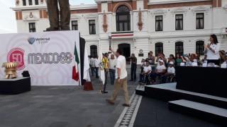 Llega a Veracruz Fuego Conmemorativo del 50 Aniversario de JO-68