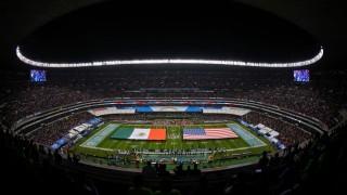 La Ciudad de México acoge un gran regreso de la NFL esta noche en el Estadio Azteca