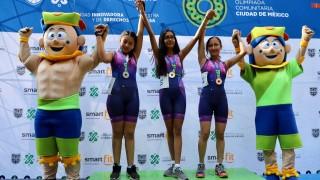 Fiesta sobre ruedas en la final del ciclismo de la Olimpiada Comunitaria de la Ciudad de México