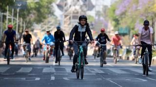 Más de 75 mil ciclistas disfrutaron de la Ciudad de México este domingo