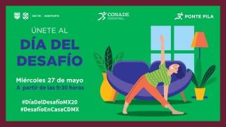 """El INDEPORTE te invita a participar este miércoles 27 de mayo desde casa en el """"Día del Desafío 2020"""""""