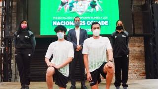 Presenta INDEPORTE uniformes de la Selección de la Ciudad de México que estará en Los Nacionales Conade 2021