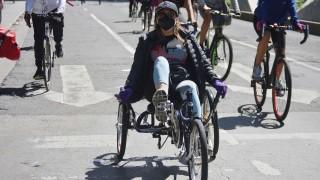Reúne Ciclotón de la Ciudad de México a cerca de 68 mil participantes